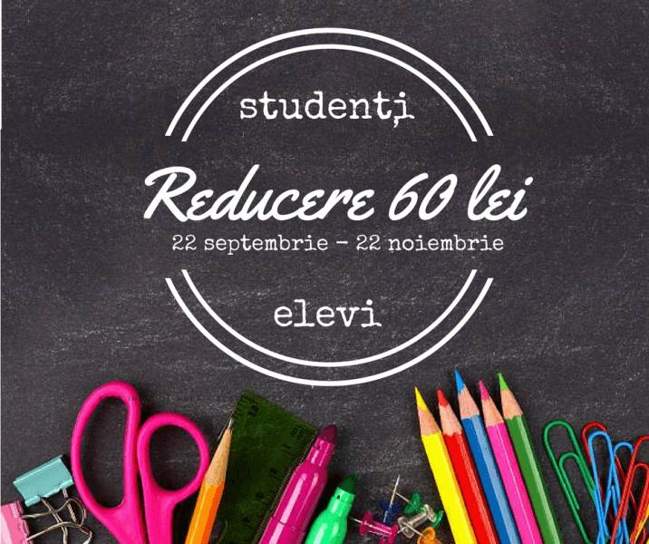 Reducere studenți și elevi
